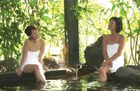 露天風呂化粧の湯